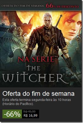 Promoção Steam: The Witcher 2: Assassins of Kings Enhanced Edition