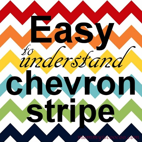 how to paint a chevron