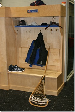 Nick Rose's locker