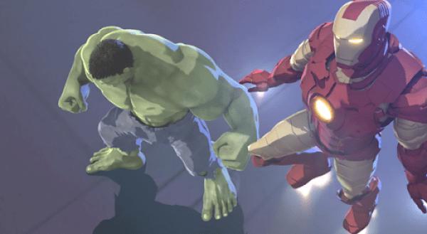 Marvel's Iron Man - Hulk - Heroes United