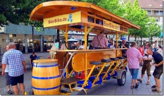 The Car is Out of Fashion - Beer Bike