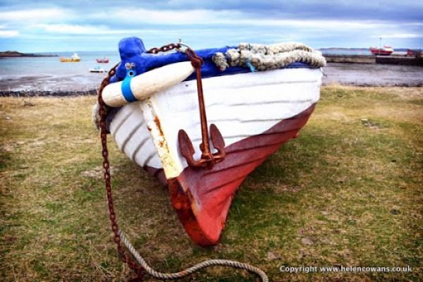 Boat on lindisfarne