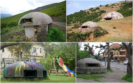bunkers-albania