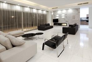 decoracion-minimalista-blanco-negro