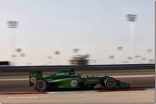 2014 F1 Pre Season Test 2 - Day 2Bahrain International Circuit, Bahrain.Thursday 20 February 2014.Kamui Kobayashi, Caterham CT05 Renault.World Copyright: Andrew Ferraro/LAT Photographic.ref: Digital Image _79P1767
