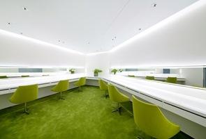 Decoracion de interiores color verde
