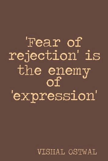 Fear quote - Vishal Ostwal