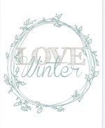 Designs By Miss Mandee - Love Winter2