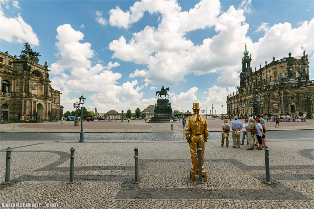 Дрезден, Театральная площадь