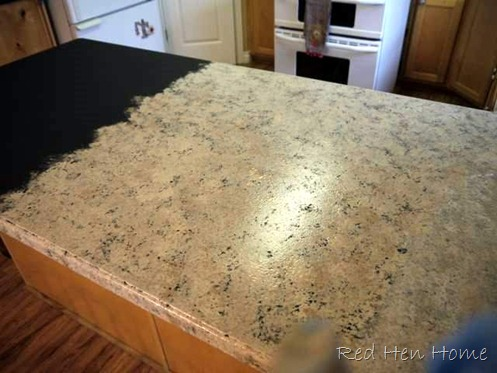 Remodelaholic | Countertop Makeover With Giani Granite ...