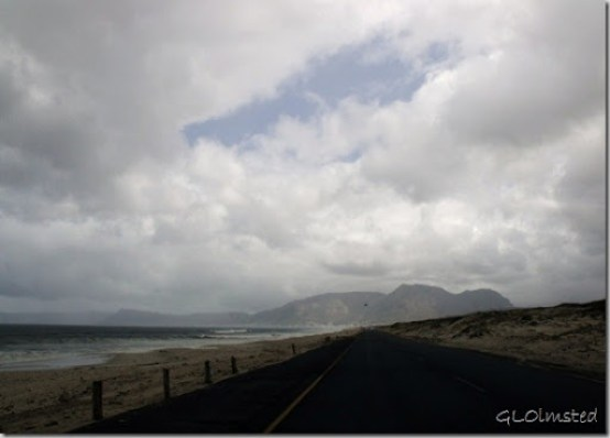 Clouds over Cape Mts R310 S False Bay Cape Pennisula South Africa