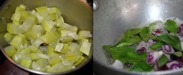 Botttelgourd Curry step2