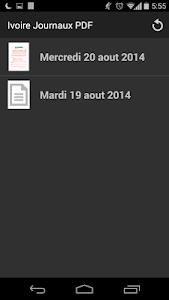 Abidjan News PDF screenshot 0