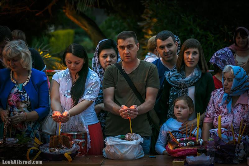 Православная Пасха и освящение куличей