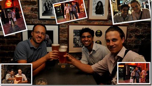 Tomislav, me and Hrvoje at Cavern Pub