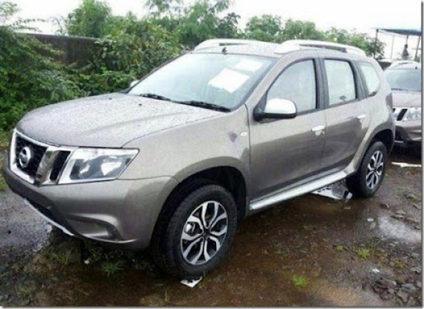 Nissan-Terrano-front-spied