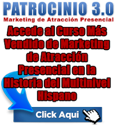 bannerpatrocinio Patrocinio 3.0   Curso de Marketing de Atracción Presencial para Negocios Multinivel