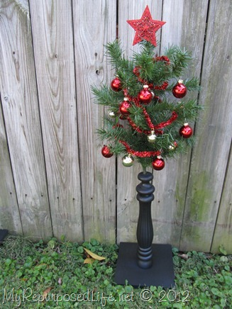 Spindle Christmas tree