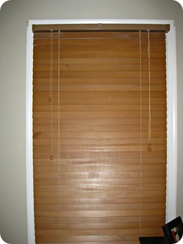 blinds before