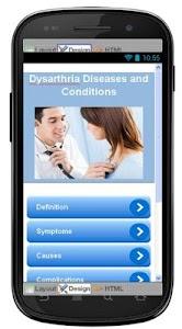 Dysarthria Disease & Symptoms screenshot 0