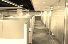 新公司辦公室一景