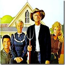 American Gothic -  beverly hillbillies