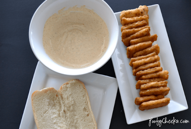 30 Minute Dinner - Fish Sandwich with Homemade Remoulade Sauce #FishnVeggies30 Minute Dinner - Fish Sandwich with Homemade Remoulade Sauce #FishnVeggies