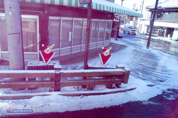 日本輕井澤聖誕警示