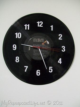 LP Record Clock (2)