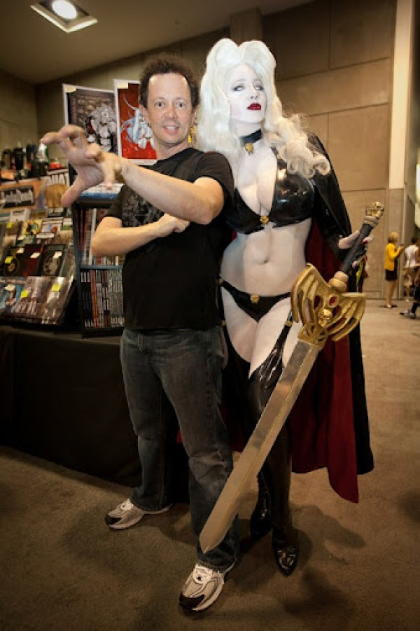 BelleChere as Lady Death with Brian Pulido