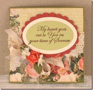 elegant floral sympathy
