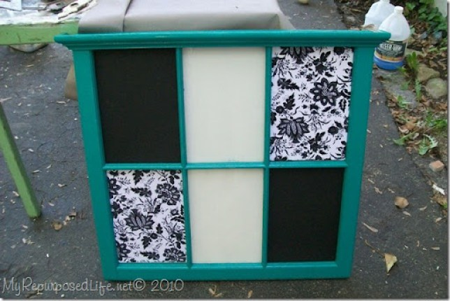 repurposed old window