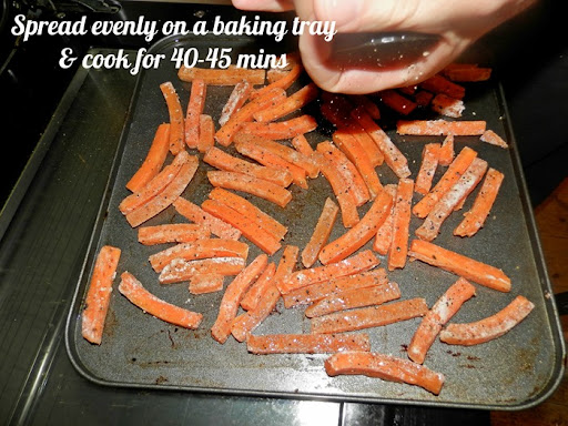 carrot fries recipe 2