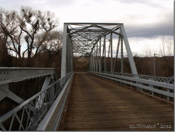 Hassyampa River Bridge Wagner Road Arizona