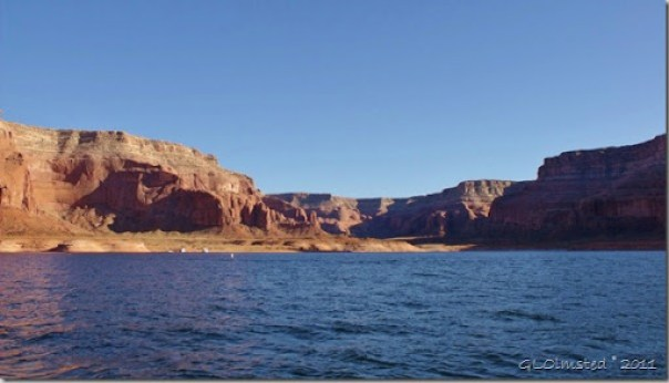 Dungeon Canyon Lake Powell Utah