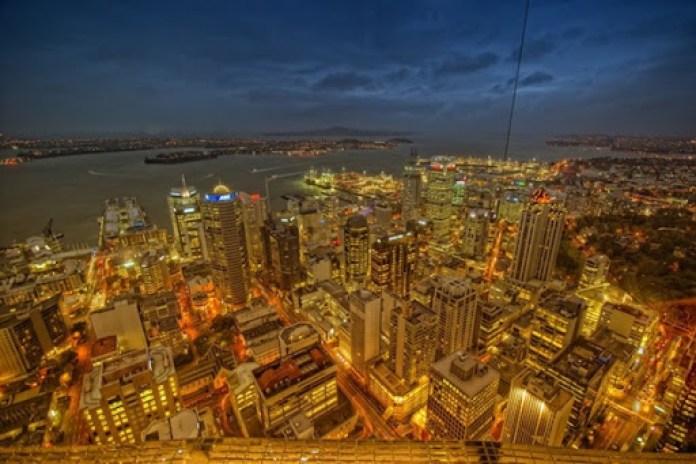 edificios-modernos-Auckland-Nueva-Zelanda