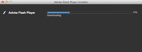 Adobe flash player downloading