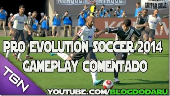 Pro Evolution Soccer 2014: Meia hora de jogo – Gameplay Comentado