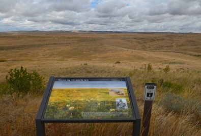 at the Little Bighorn Battlefield