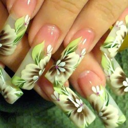 Puerto Rico With Cute Flower Nail Gardening Flower And Vegetables