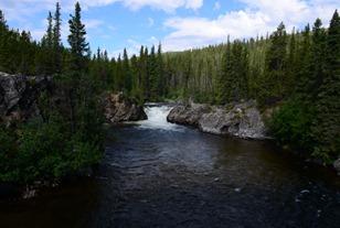 the second Rancheria Falls