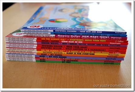 Box Day! Let's Read & Find Out Science Books ~ Our Aussie Homeschool