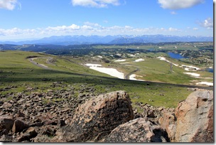Switchbacks on the Beartooth Highway, Wyoming