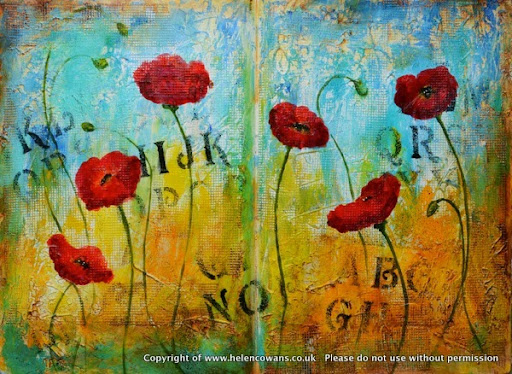 Wk 6 Poppies Helen Cowans 001