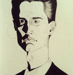 Agent Cooper inked #agentcooper #twinpeaks #beacreator #illustration #drawdaily