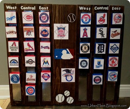 DIY Baseball Board