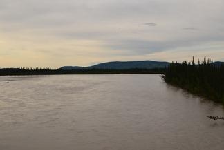 Tanana River crossing Alaska Highway