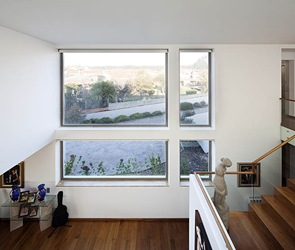 ventanas de crital amplias