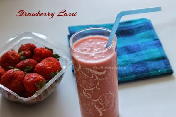 Strawberry Lassi1