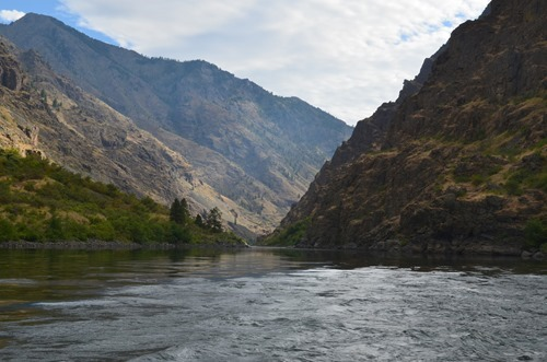 on the Snake River in Hells Canyon
